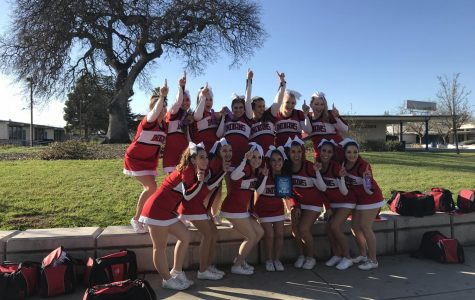 RHS Cheerleaders Jump to the Top