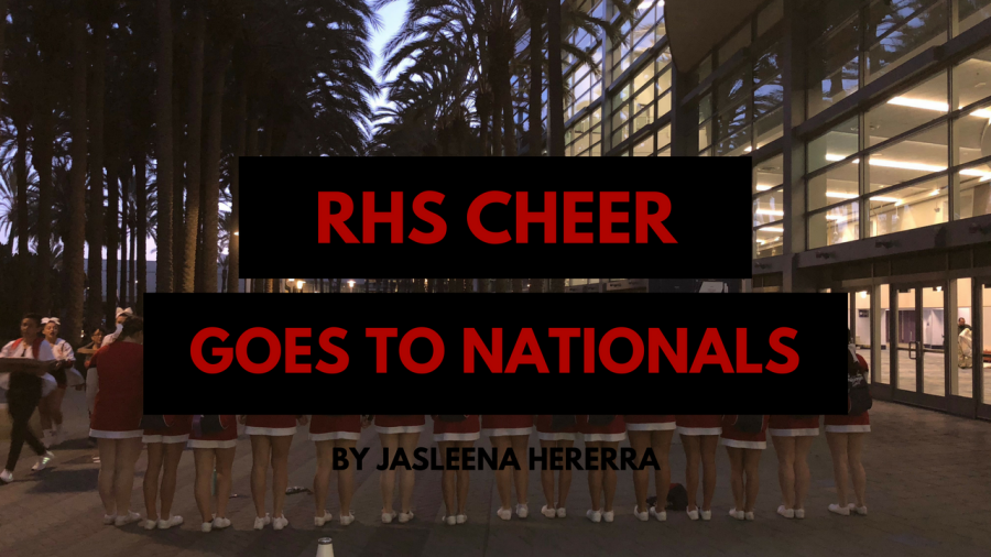 RHS Competition Cheer Team Goes to Nationals