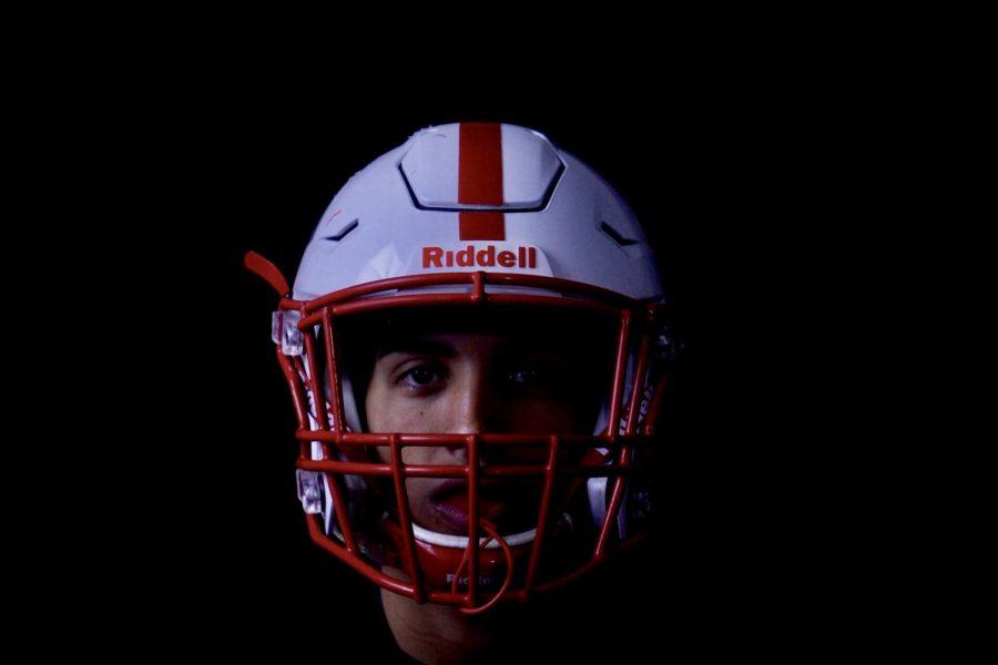 Ripon quarterback Ryan Daggett