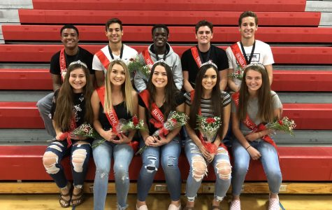 Class of '19 Homecoming Royalty