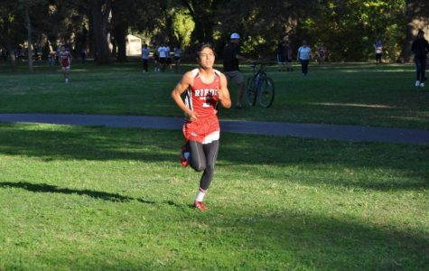 Cross Country Runs into Sections