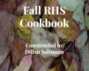 Fall RHS Cookbook