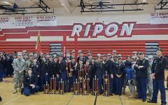 Ripon's JROTC Drill Competition