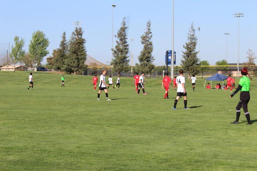 Kicking into the season: Boys soccer