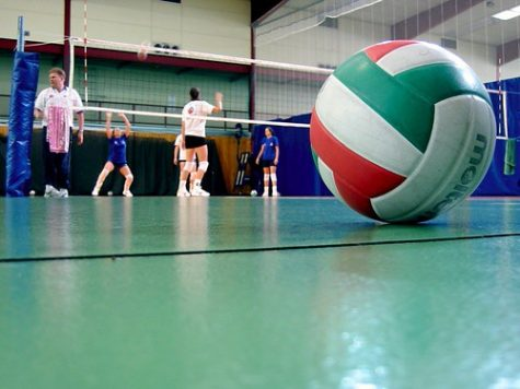 Girls Volleyball Senior Night 2021