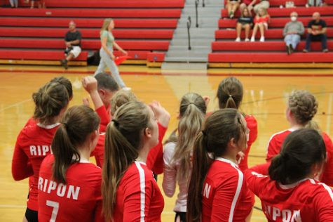 Ripon Volleyball Takes Victory Over Enochs